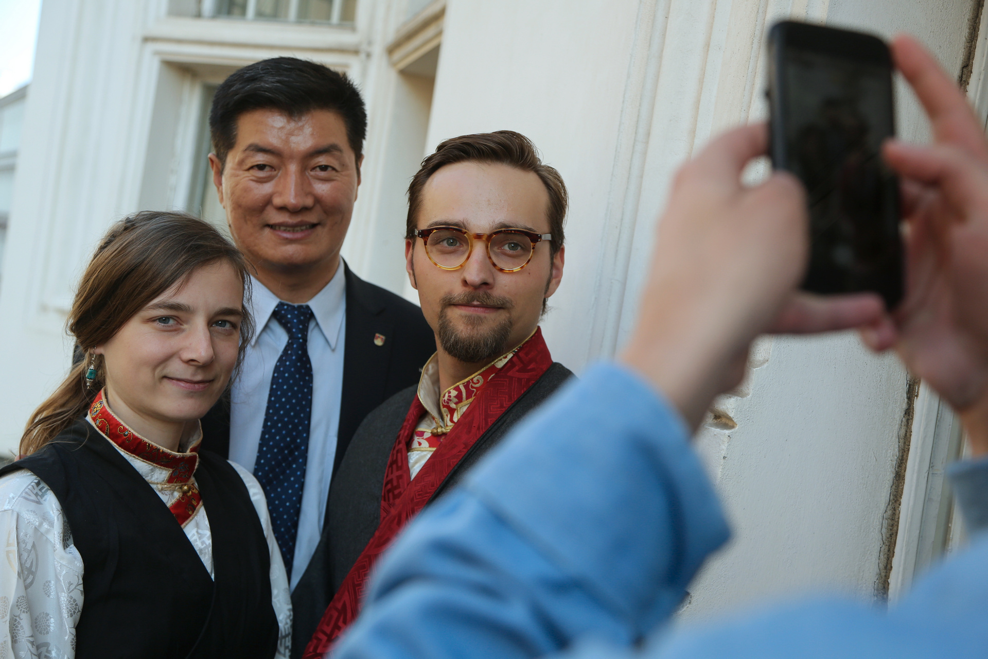 Lobsang Sangay in Prague (Forum 2000, October 9, 2018)
